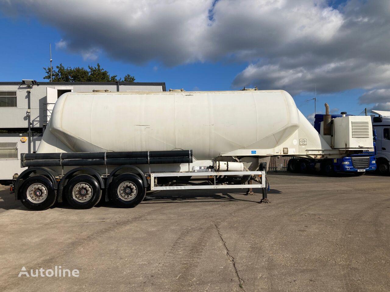 FELDBINDER EUT 40.3 cement tank trailer