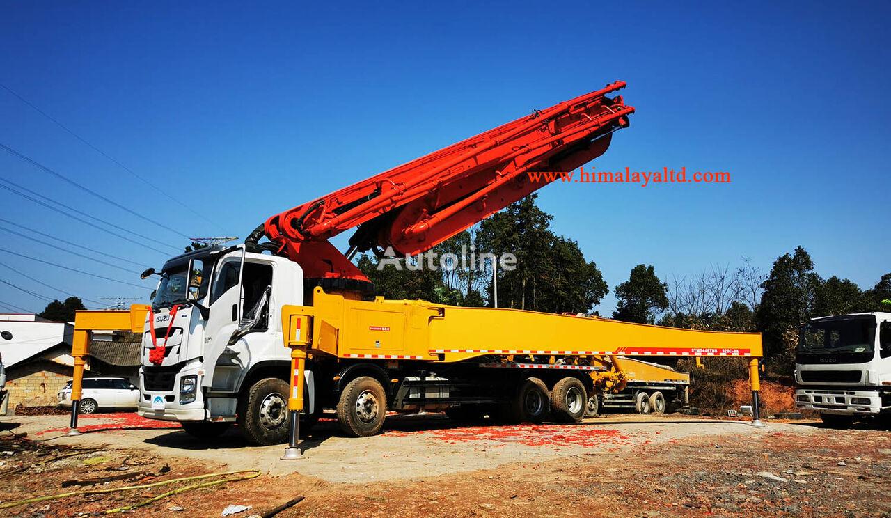 new Sany 56m X-6RZ on chassis ISUZU QL5420THBW2TDHY  concrete pump