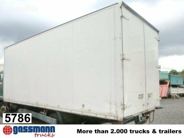 Kofferaufbau box truck body