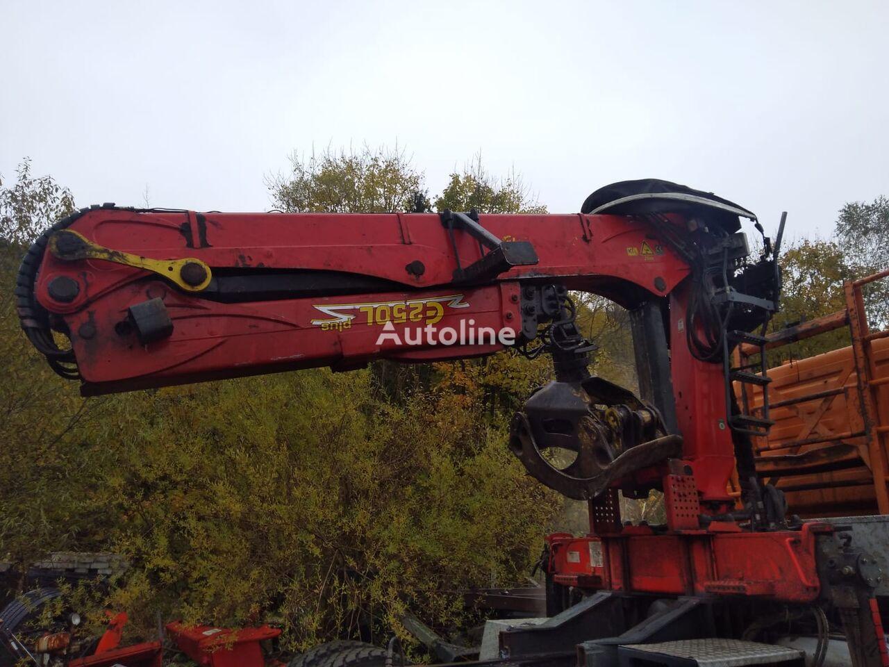 EPSILON E250L95 holzkran Do drewna Timber crane loader crane