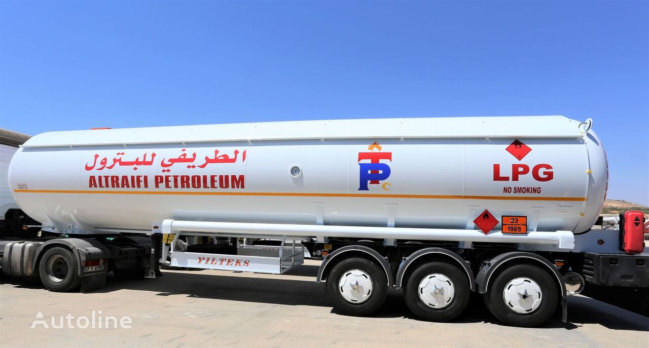 new YILTEKS Semi Trailer LPG Tank  gas tank trailer
