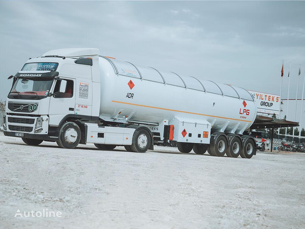 new YILTEKS YILTEKS TRAILER ADR CERTIFICATE SEMI TRAILER gas tank trailer