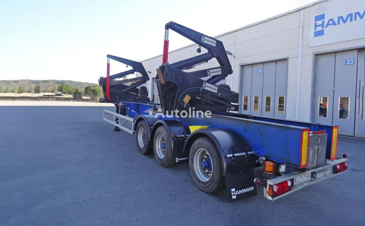 HAMMAR 195 S / 33 T / 20'-40'  container chassis semi-trailer