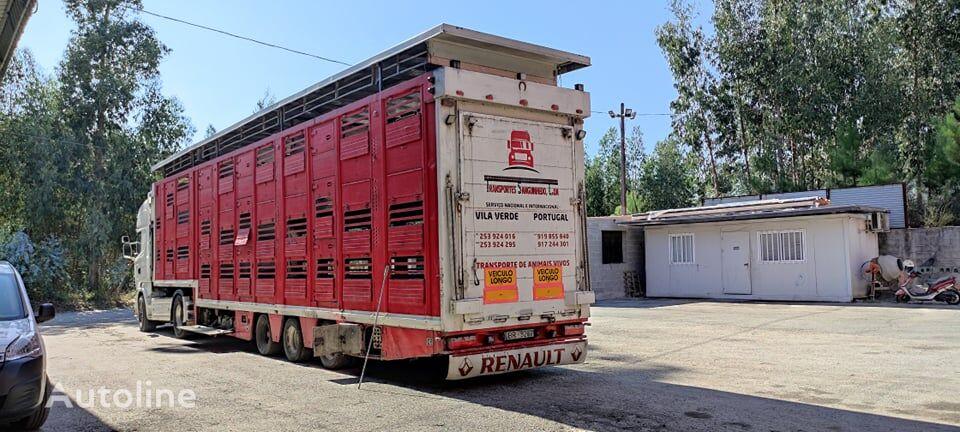 Finkl SAV35 livestock semi-trailer