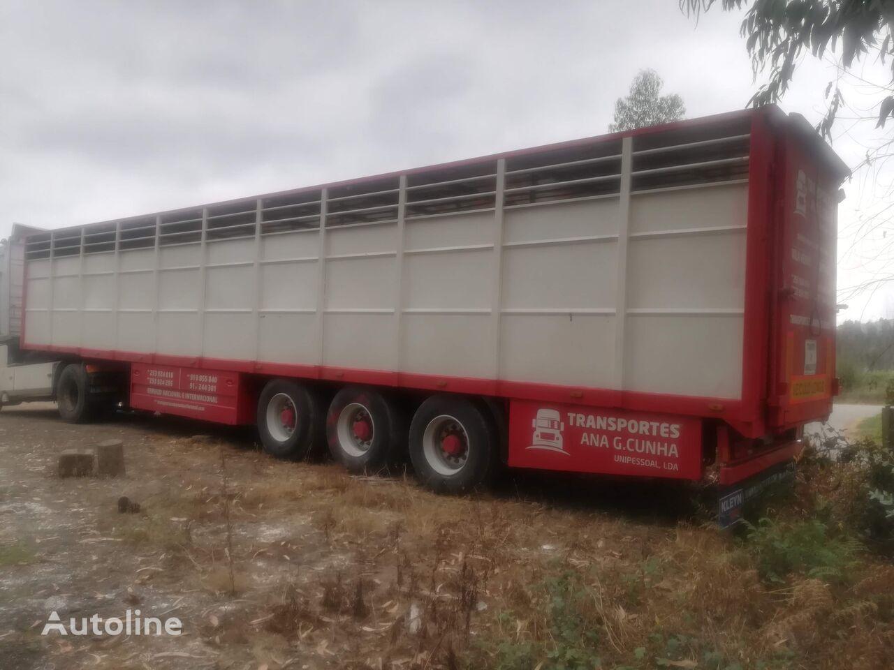 LECI TRAILER SRGV 3/13.6 livestock semi-trailer