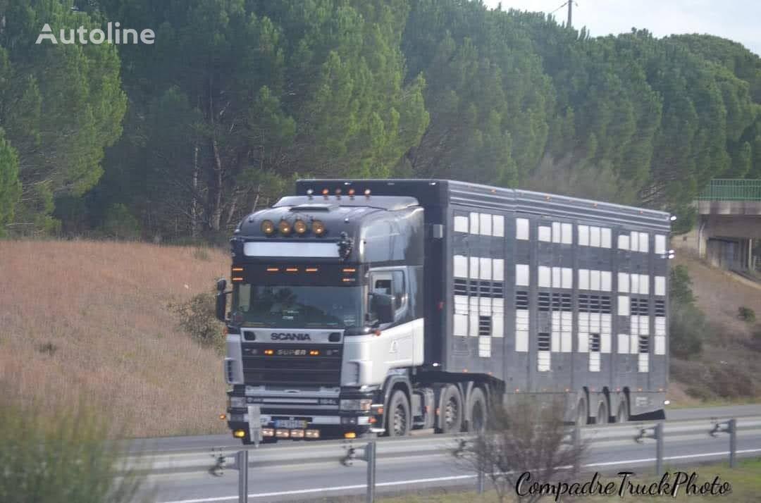 MICHIELETTO SM368F livestock semi-trailer