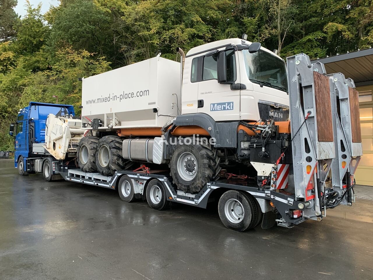 new low bed semi-trailer