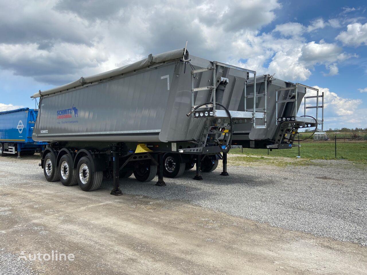 SCHMITZ CARGOBULL NACZEPA / WYWROTKA  / 29M3 / 2018 / KLAPA / 5300 KG!! / tipper semi-trailer