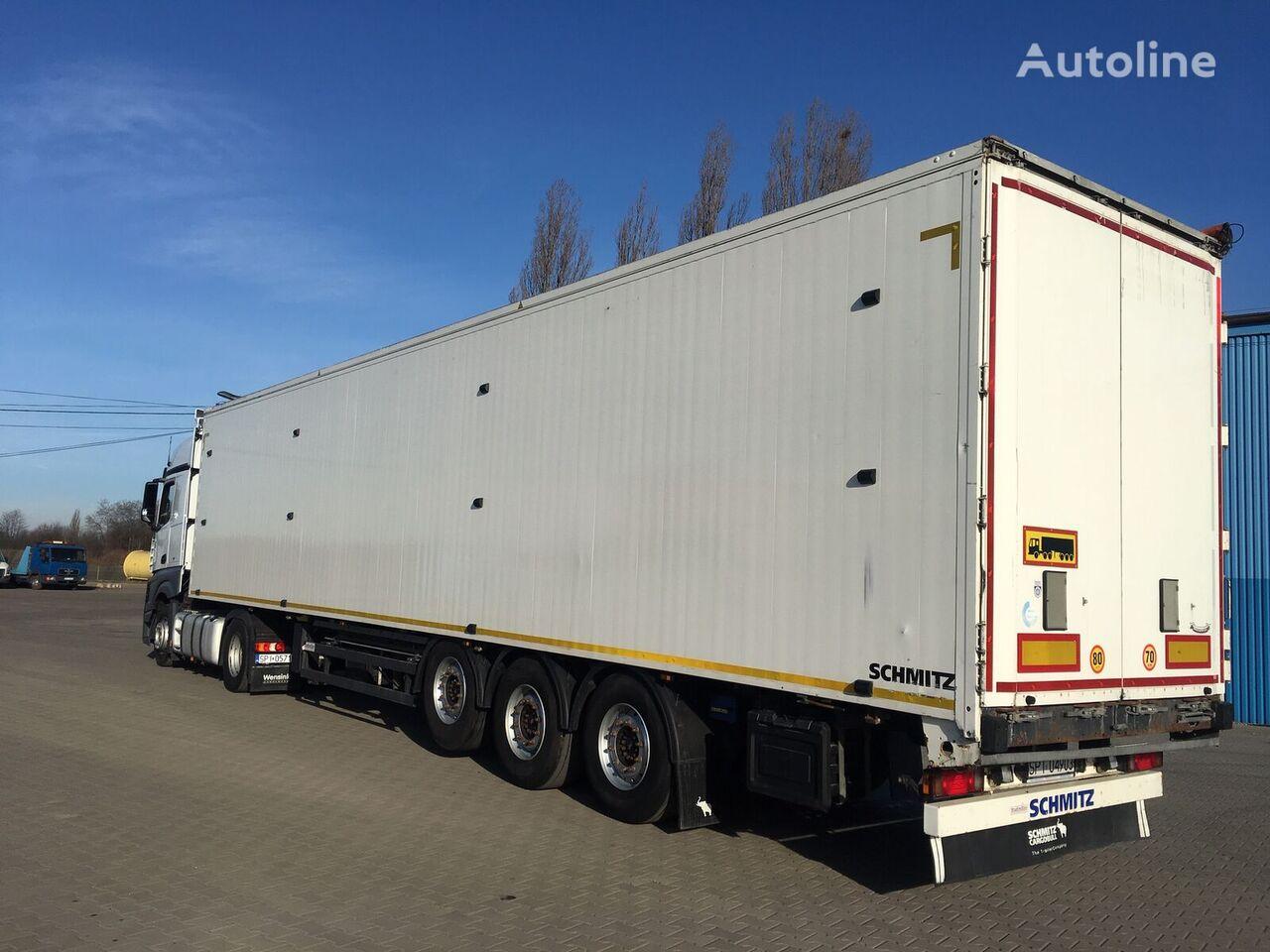SCHMITZ CARGOBULL Gotha walking floor semi-trailer
