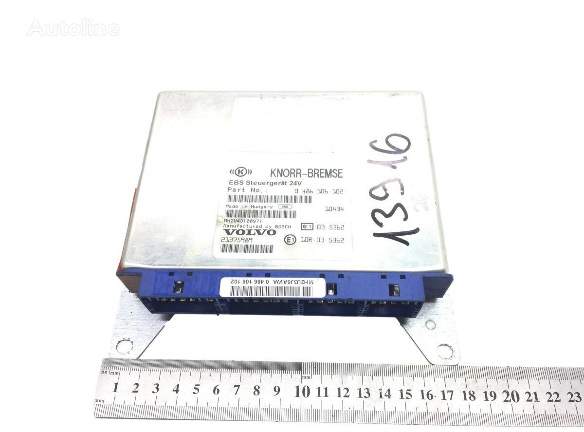 KNORR-BREMSE B9 (01.02-) control unit for VOLVO bus