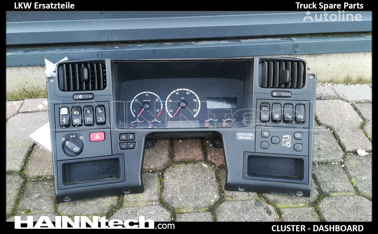 dashboard for SCANIA R SERIES tractor unit