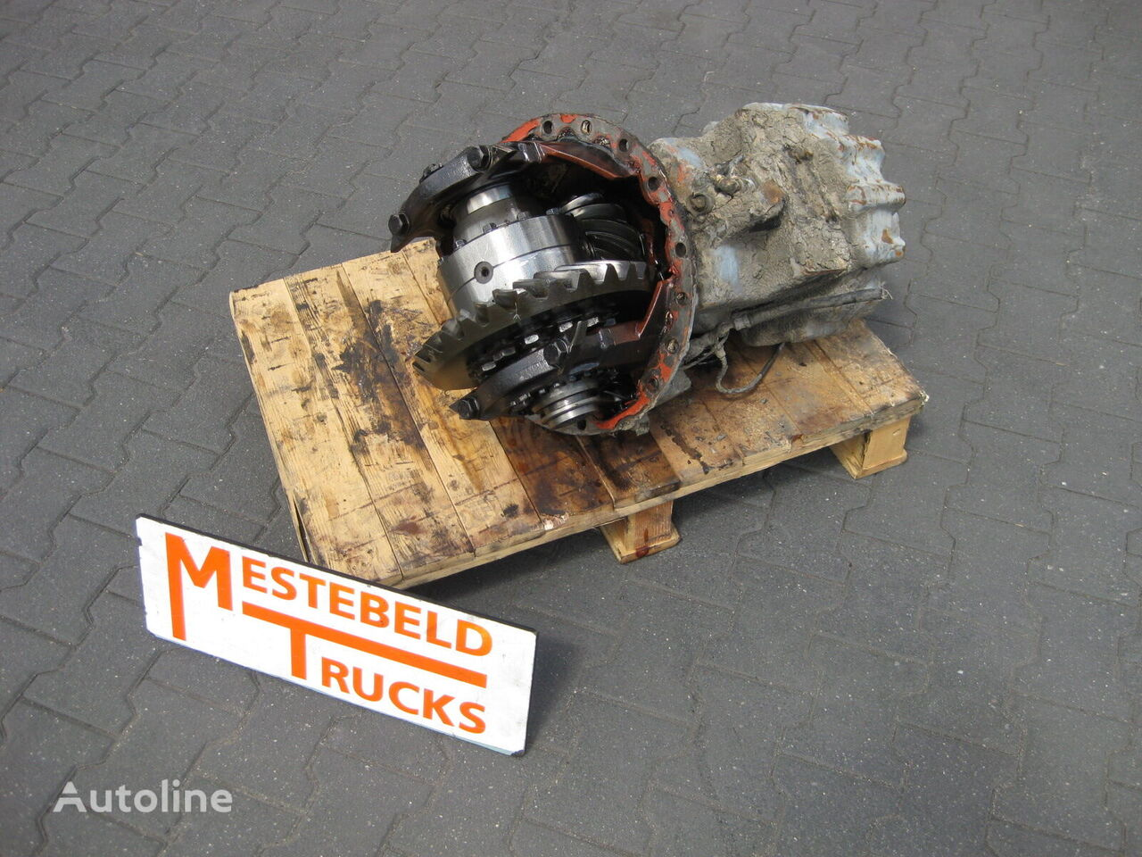 SCANIA RBP 830 differential for SCANIA truck