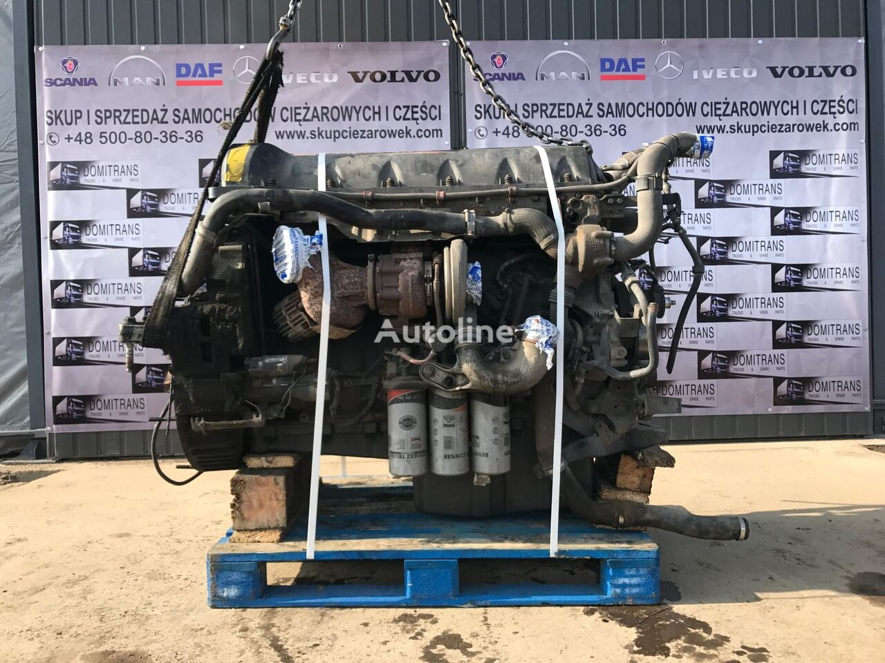 RENAULT DXI11, 460 KM engine for RENAULT PREMIUM tractor unit
