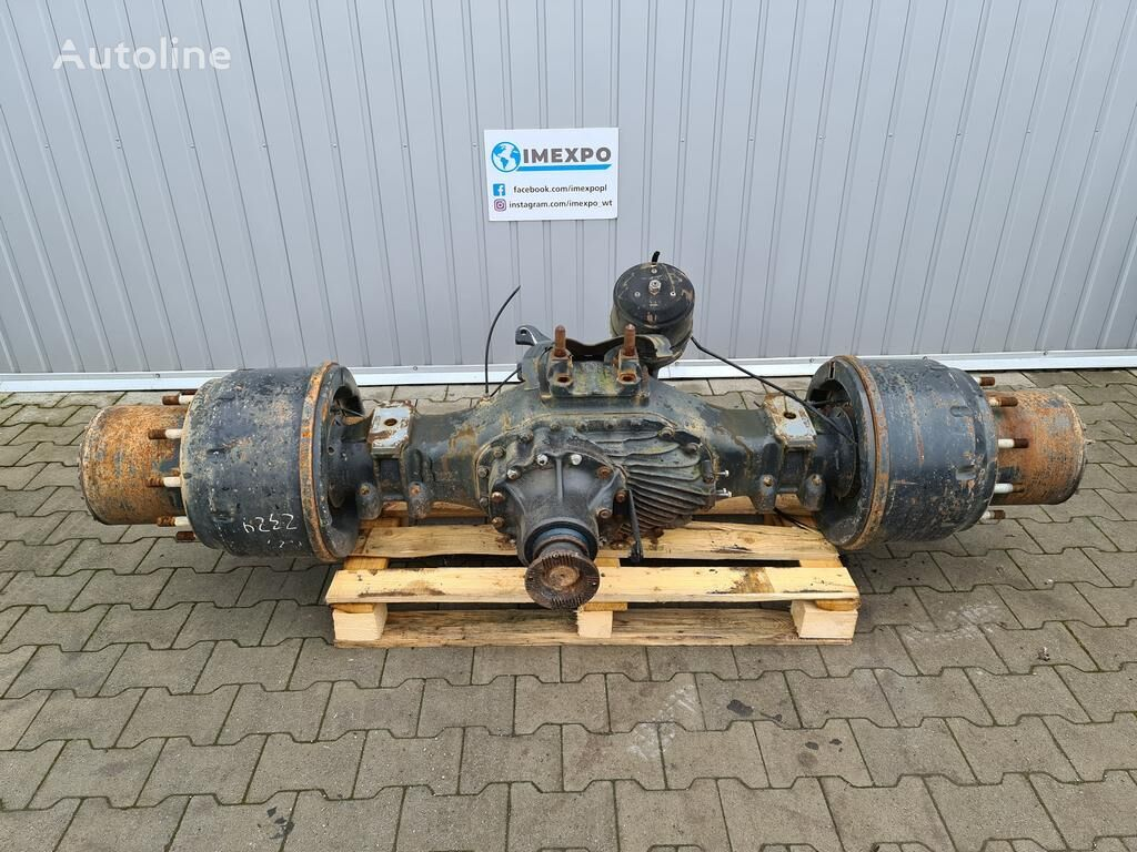 MAN REAR AXLE HP-1352 ratio: 29:24 / 4,832 HUB REDUCTION / COMPLETE (81350106192) rear axle for MAN TGA / TGS truck