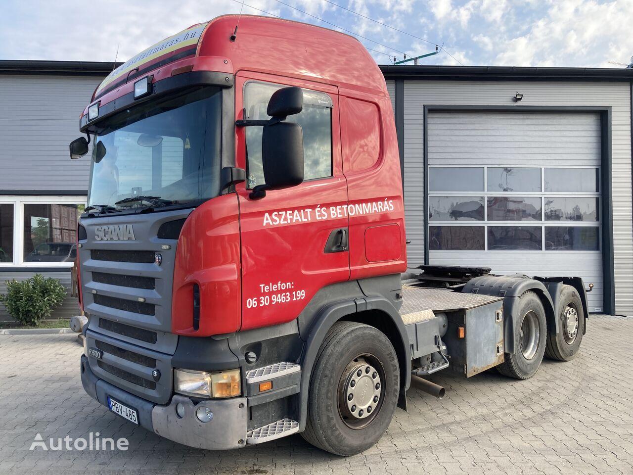 SCANIA R 500 6X2 hydraulic tractor unit