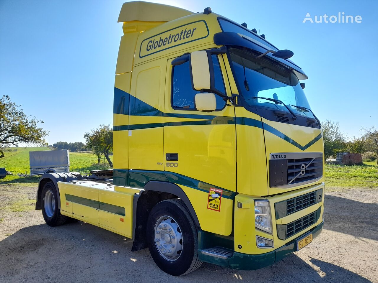 VOLVO FH 500 EURO 5- EEV-AUTOMAT tractor unit