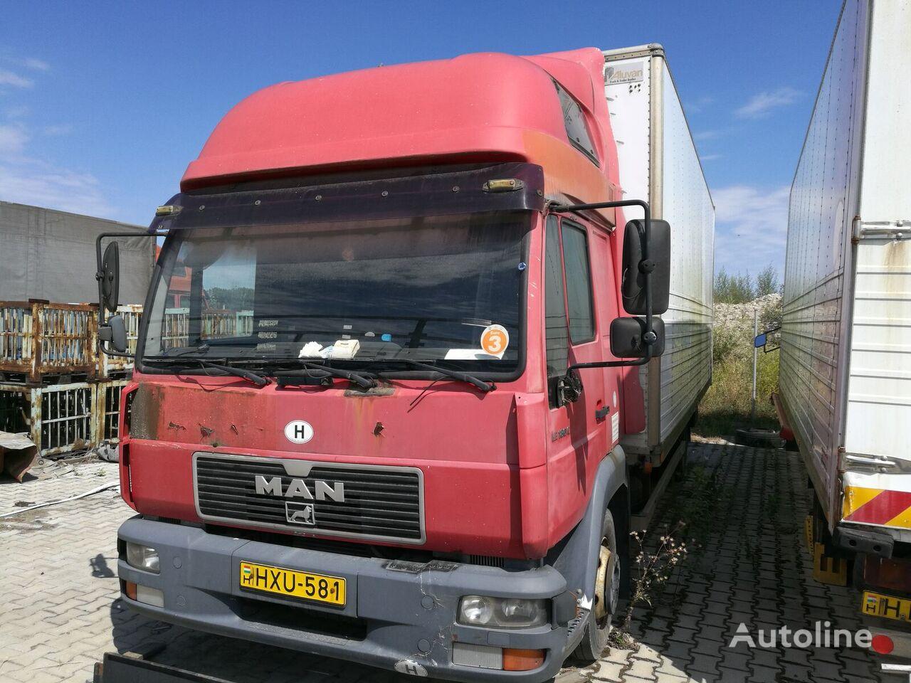 MAN 8.185 LC box truck