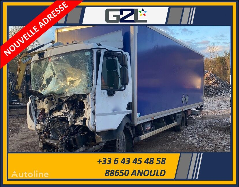 damaged RENAULT D210 DTI 5 12T / Dhollandia DHSM.15 *ACCIDENTE*DAMAGED*UNFALL* box truck