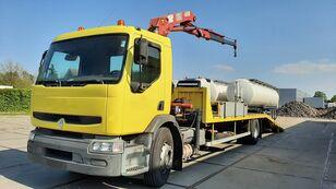 RENAULT Premium 250.19 Crane Winch car transporter