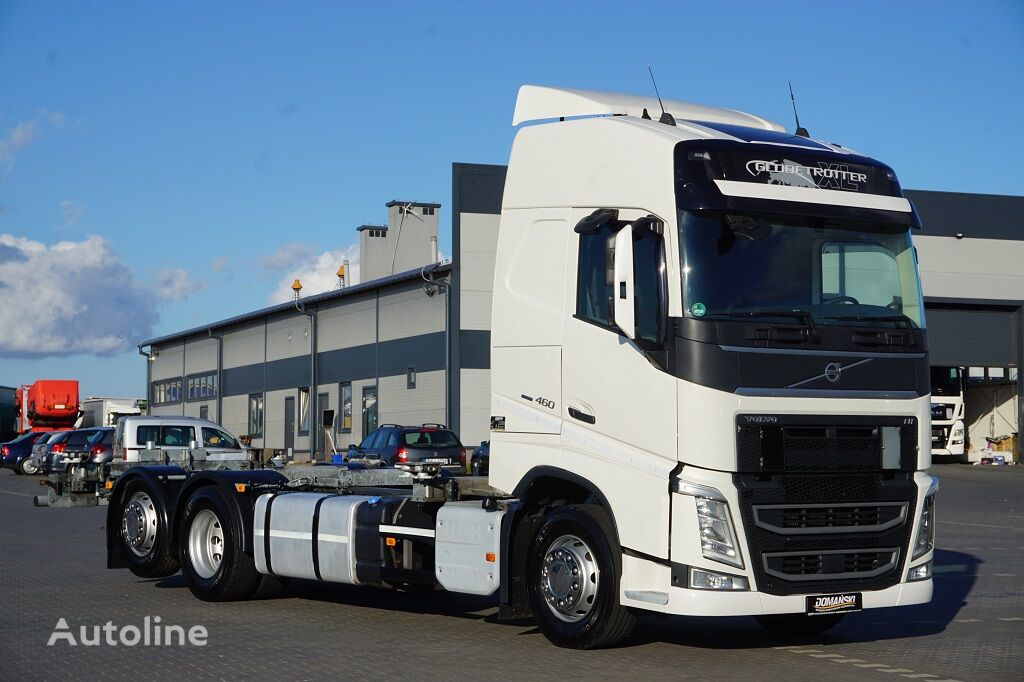 VOLVO / FH / 460 / E 6 / ACC / BDF-MULTIWESCHLER / 7.15 , 7,45 , 7,82  chassis truck
