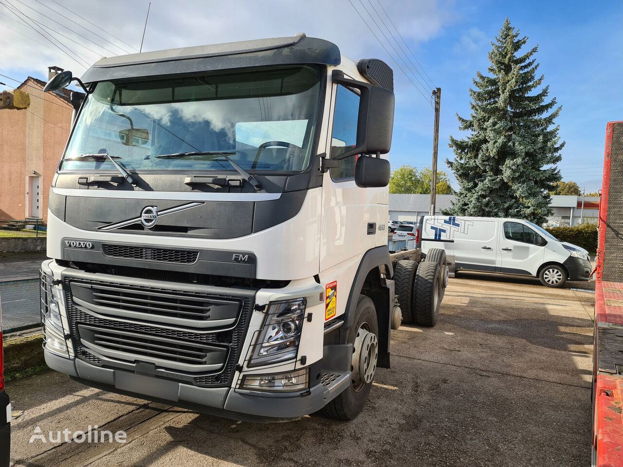 VOLVO FM 460 chassis truck