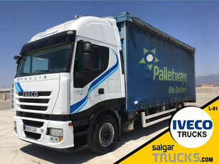 IVECO AS440S45T/P curtainsider truck