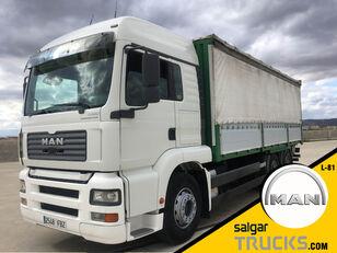 MAN TGA 28.430 curtainsider truck