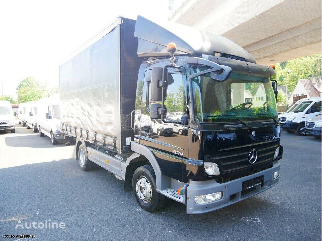 MERCEDES-BENZ 924 curtainsider truck