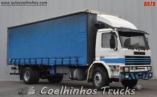 SCANIA 92M curtainsider truck