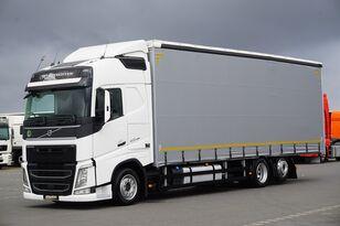 VOLVO / FH / 420 / ACC / EURO 6 / FIRANKA / 22 PALETY / DŁ. 9,05 M curtainsider truck