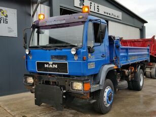 MAN 18.264 dump truck for parts