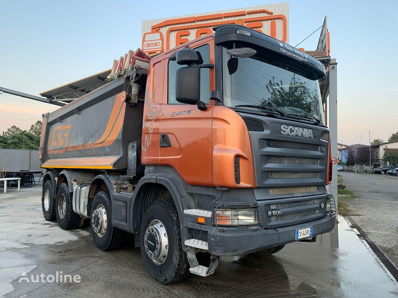SCANIA R500 dump truck