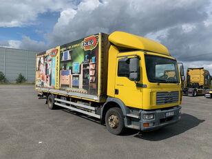 MAN TGM 15.240 , hydr čelo flatbed truck
