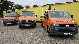 VOLKSWAGEN T5 Pritschenwagen Doka flatbed truck