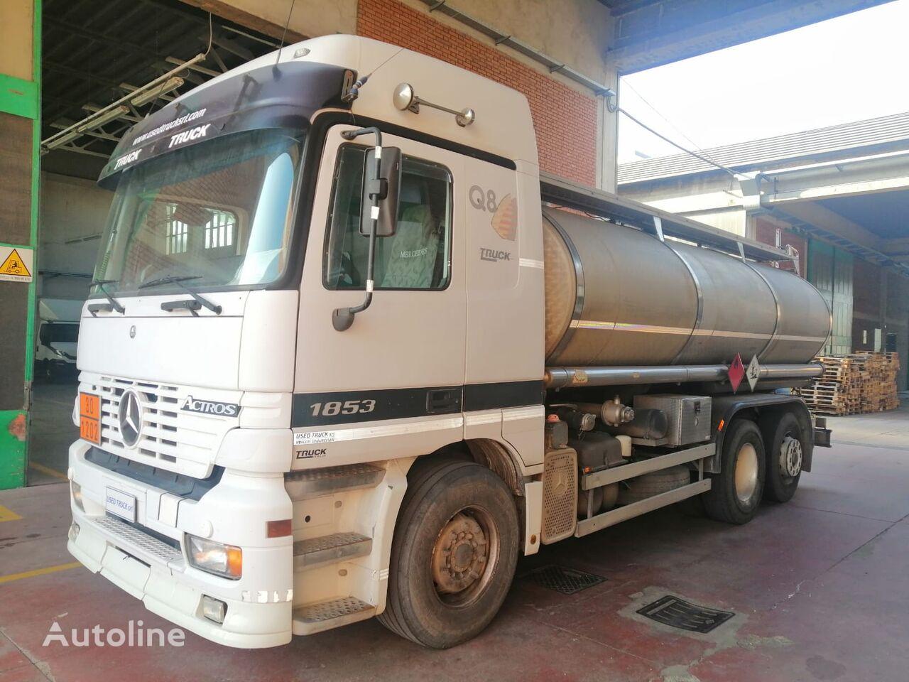 MERCEDES-BENZ ACTROS 1853 fuel truck