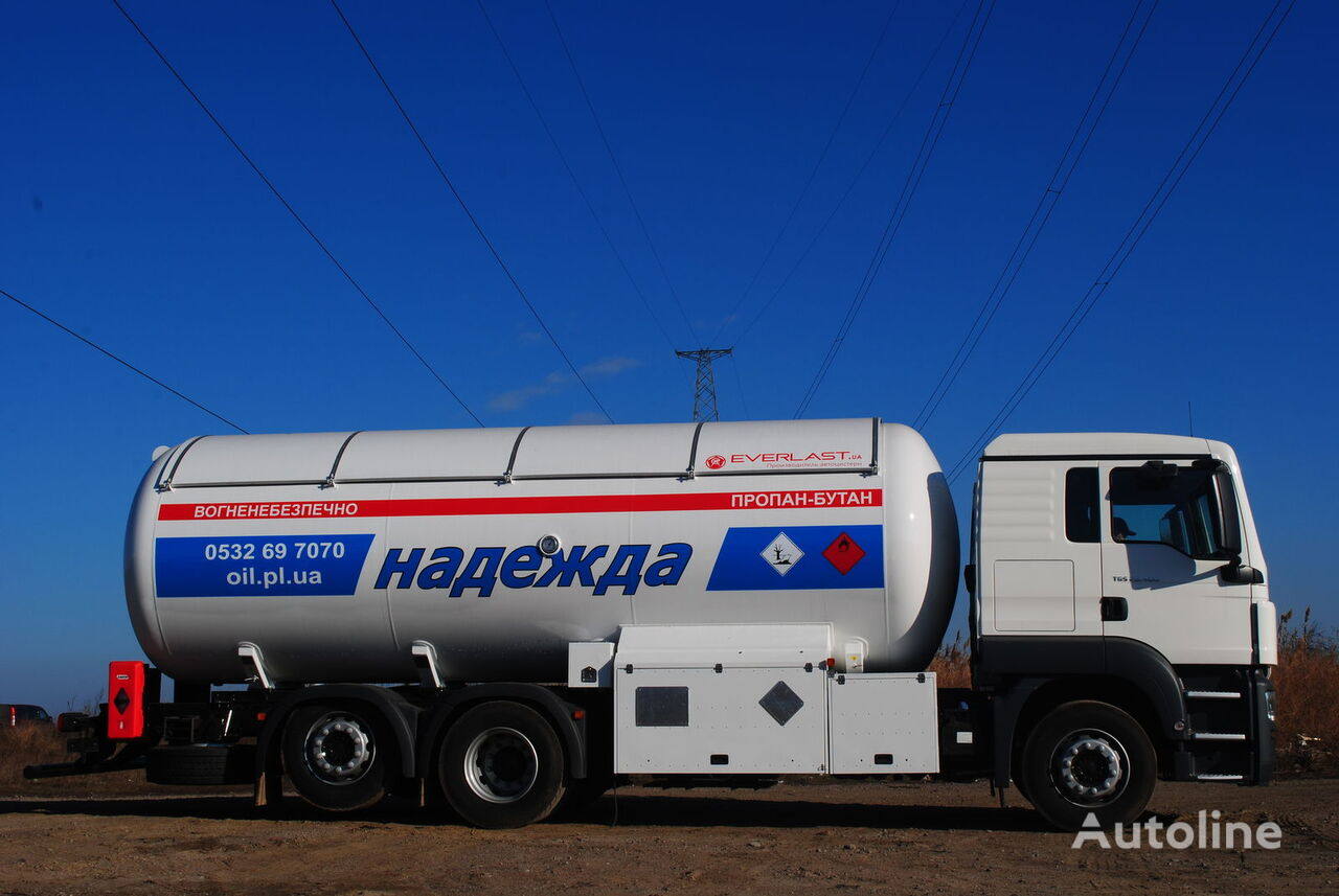 new EVERLAST ACG-24 gas truck