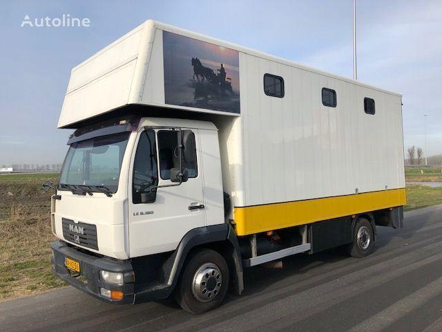 MAN LE8-180 horse truck