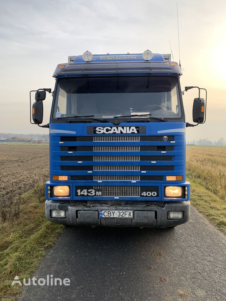 SCANIA 143M 400  refrigerated truck