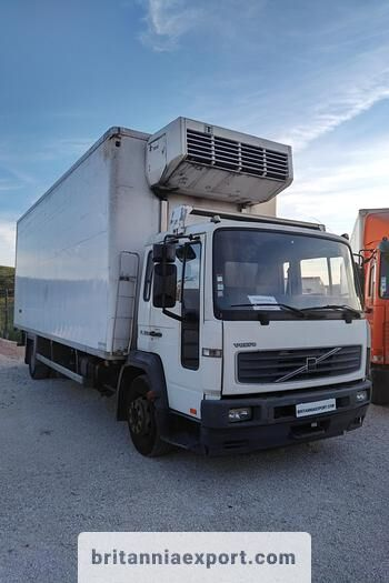 VOLVO FL 220 left hand drive 15 ton on full springs refrigerated truck