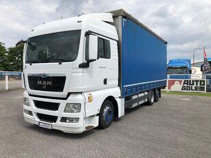 MAN TGX 24.440 flatbed tilt truck