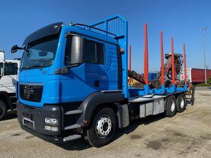 MAN TGS 26.480 timber truck