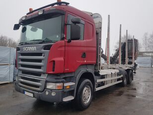 SCANIA R420 timber truck