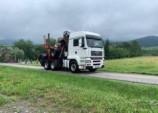 MAN tga 430  timber truck